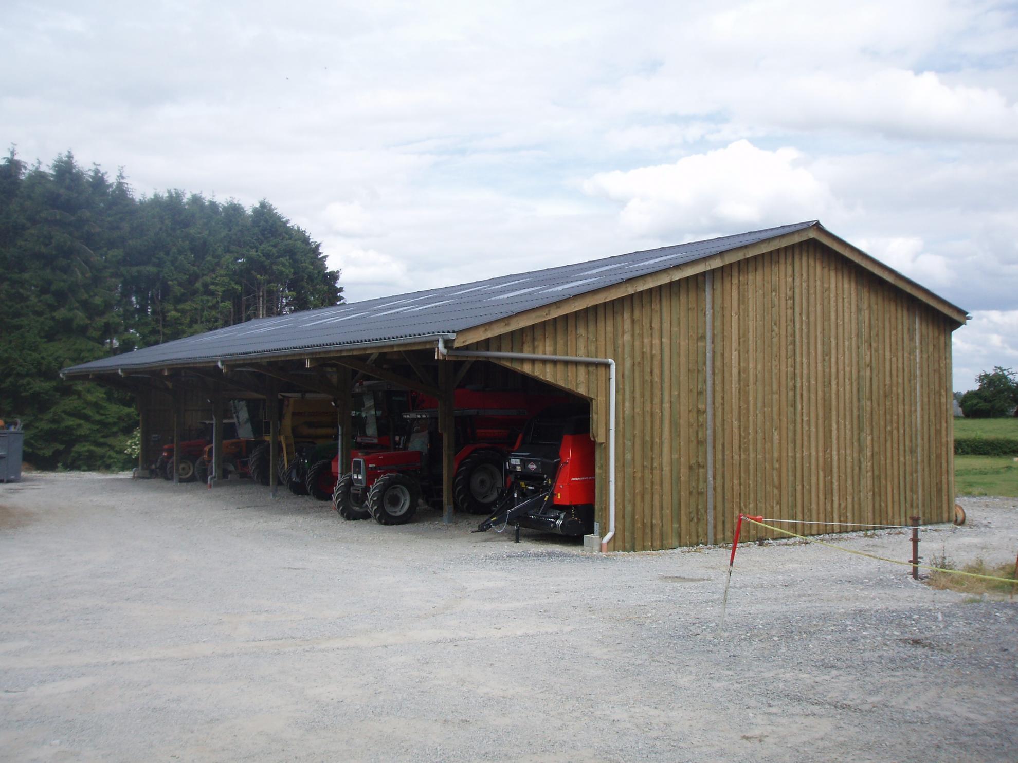 Constructeur batiment hangar agricole et table en bois havelange province namur belgique - Constructeur de hangar agricole ...
